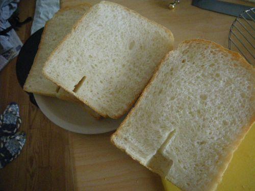 パネトーネマザーを使った食パンの切り口