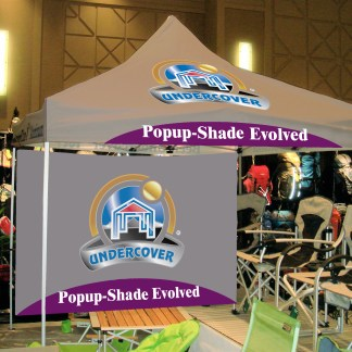 257d7cb48d6 10'x10' COMMERCIAL CUSTOM PRINTED Instant Canopy, Hybrid-Steel Frame,  Printed Top, Wheel-Bag and Spikes ...