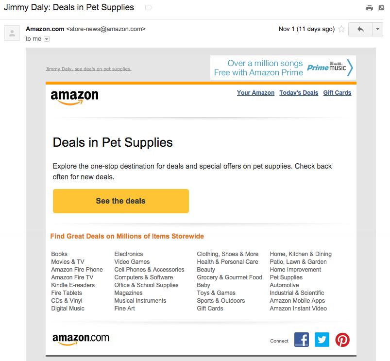 amazon email example