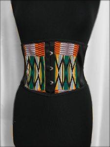 Ethnic Print Belts