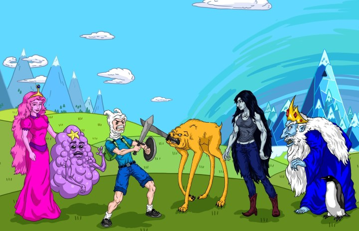 Adventure Time Backgrounds  Images