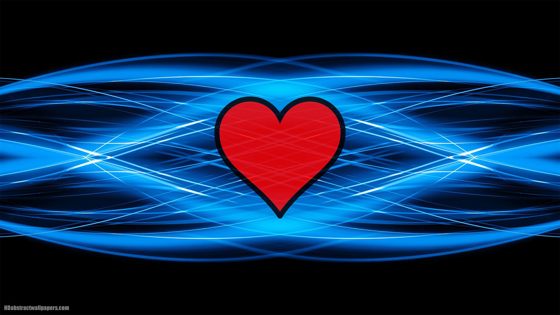 blue heart wallpaper (70+ images)