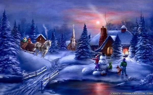 Christmas Wallpapers and Screensavers (70+ images)
