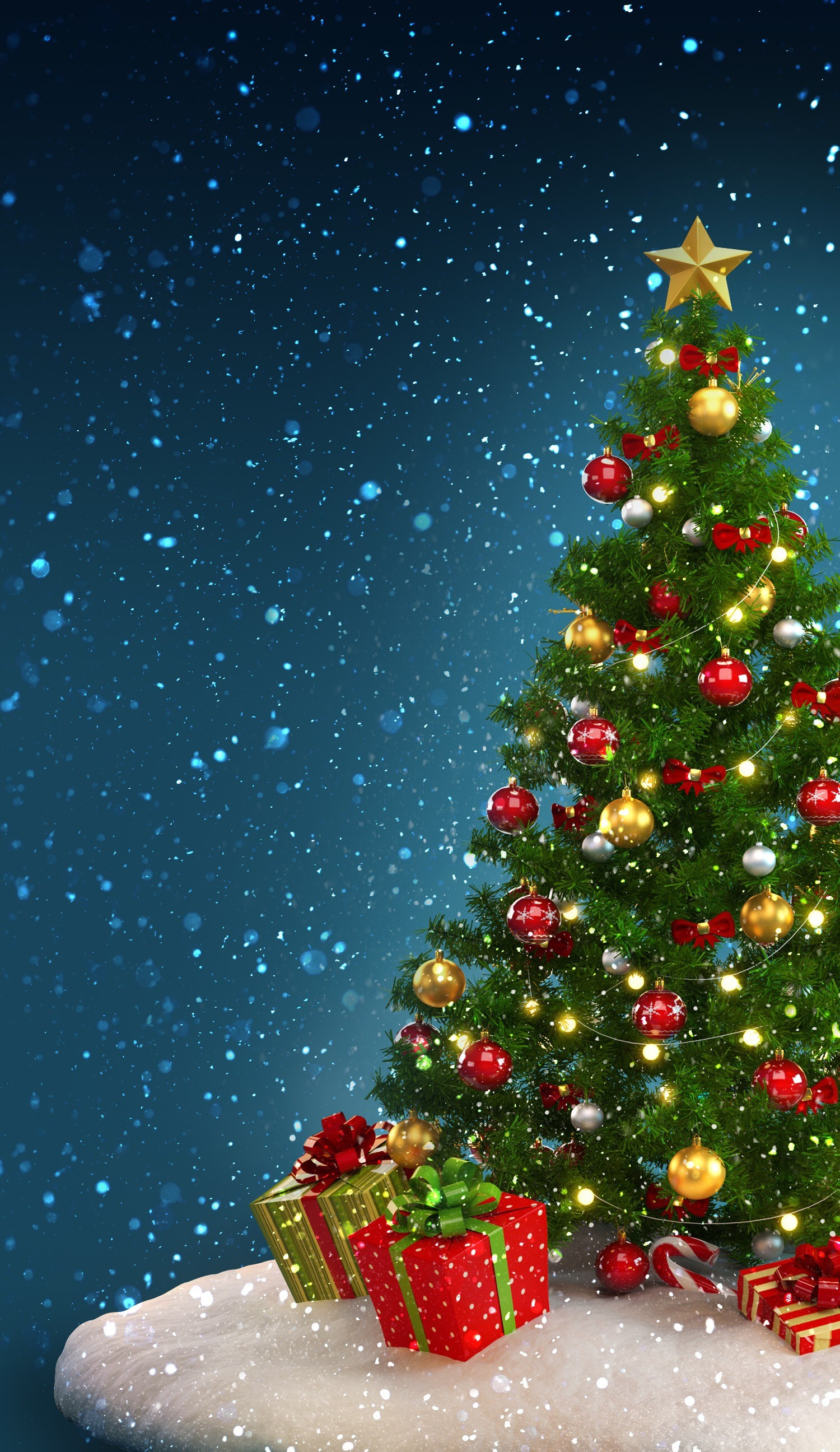 Christmas Wallpaper for Phones  84  images  1500x2592 christmas tree wallpaper