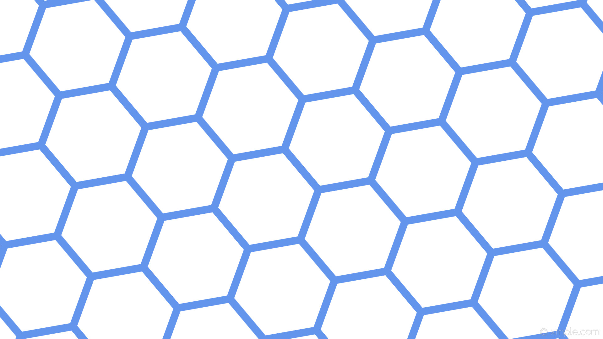 Blue Hexagon Wallpaper 83 Images