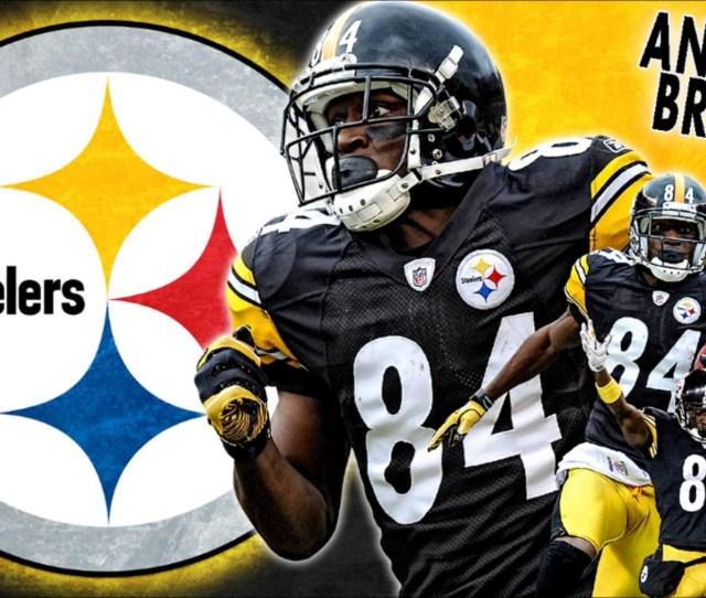 Steelers Antonio Brown Wallpaper Hd  Images