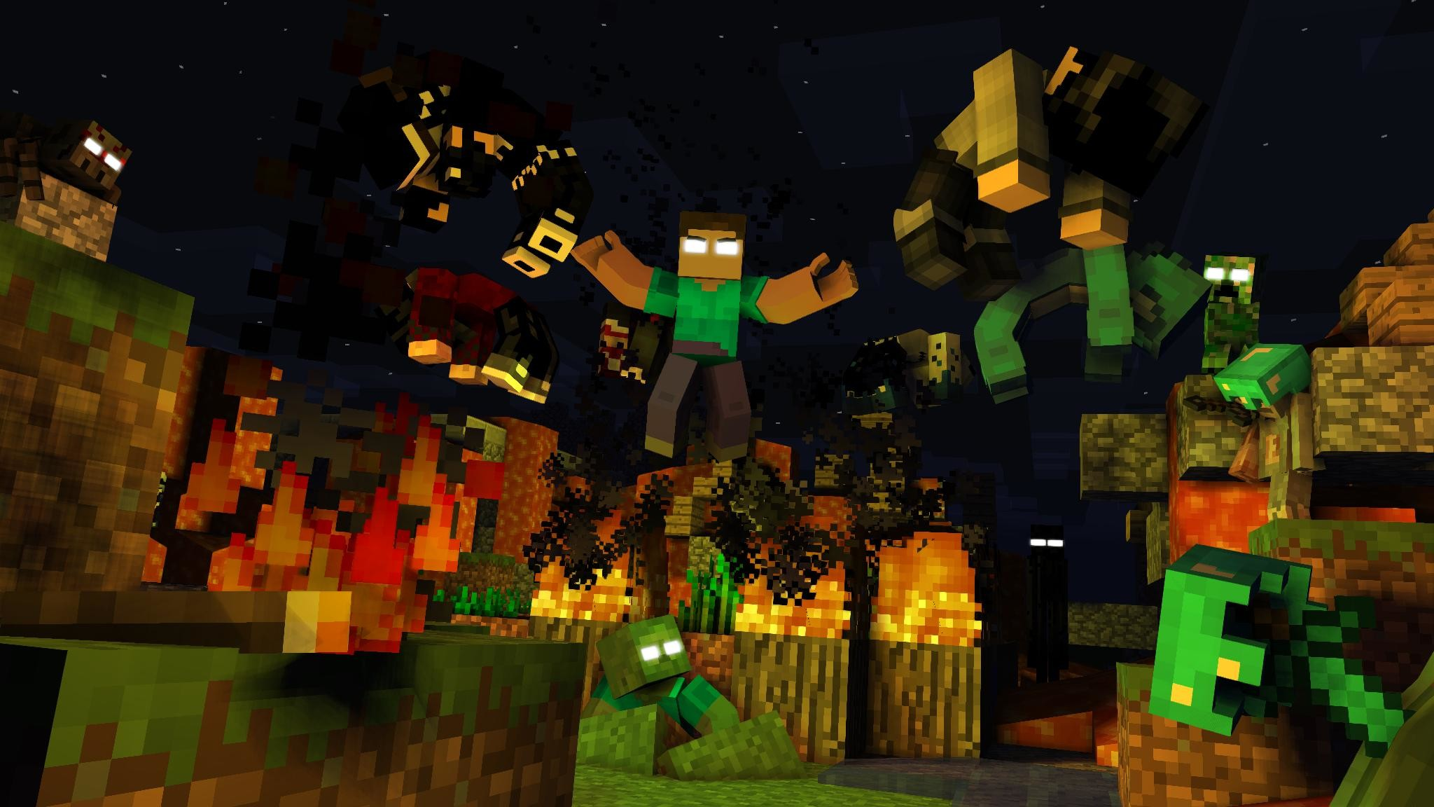 X 2048 Games 1152 Hunger Minecraft