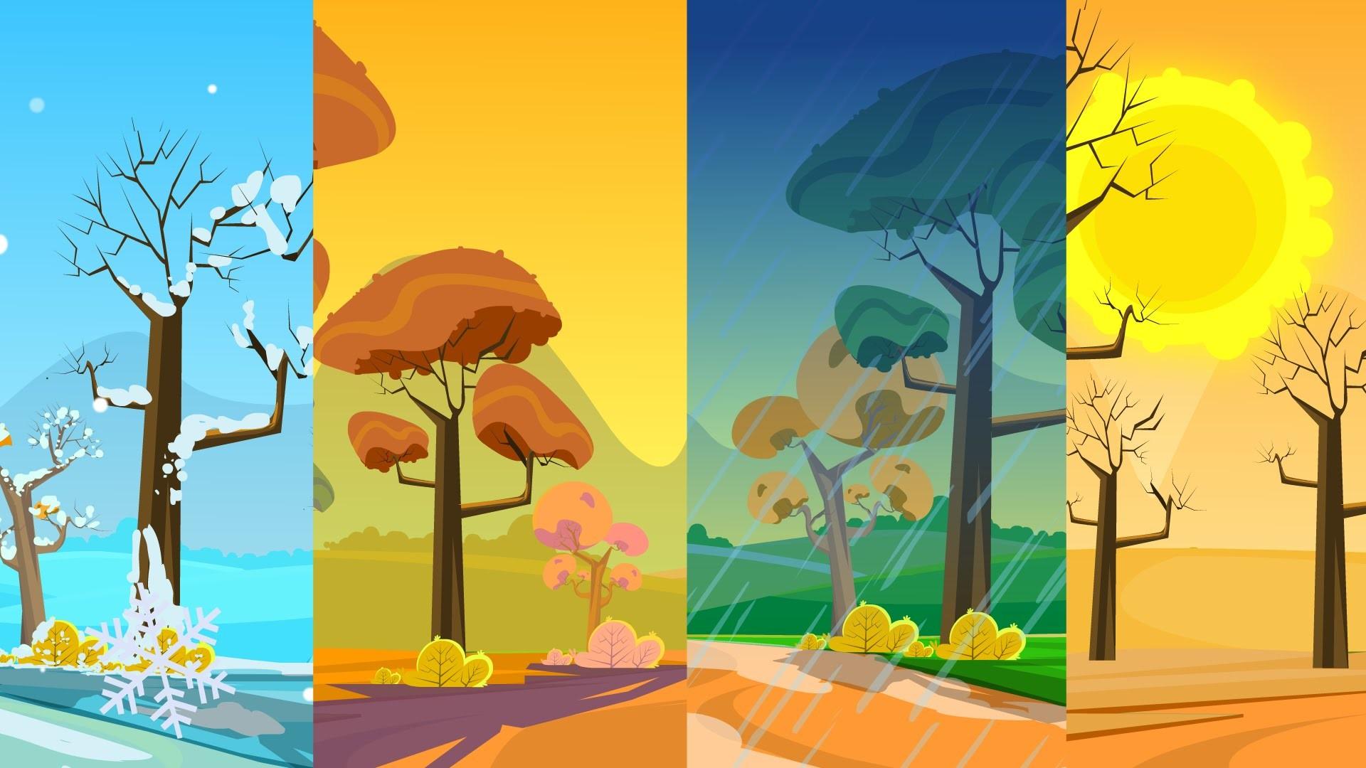 Four Seasons Wallpaper 53 Images