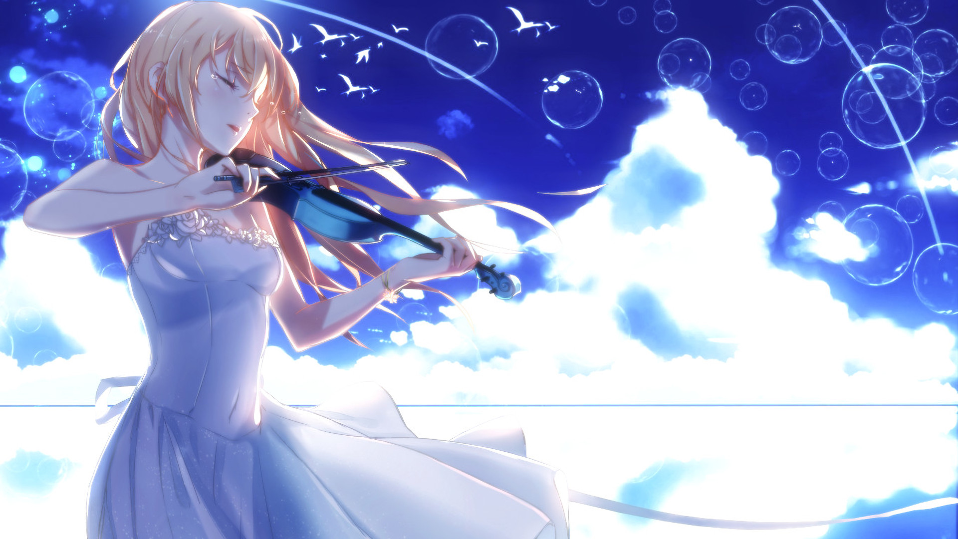 Comfortable wallpapers for your browser in a tabs. Your Lie in April Wallpaper (83+ images)
