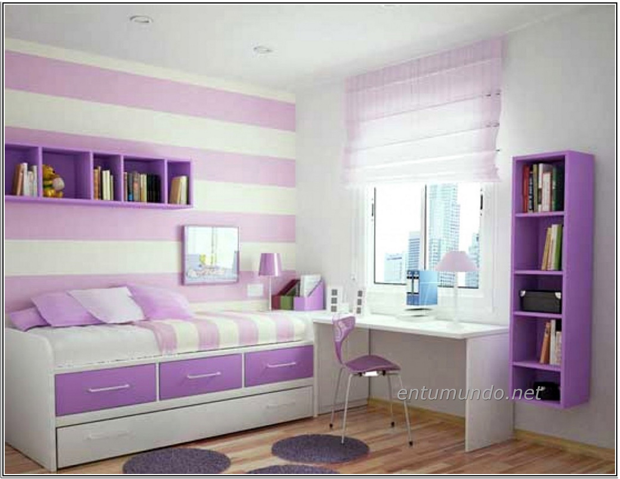 Wallpaper for Tween Girls (29+ images) on Teenage Beds For Small Rooms  id=45674