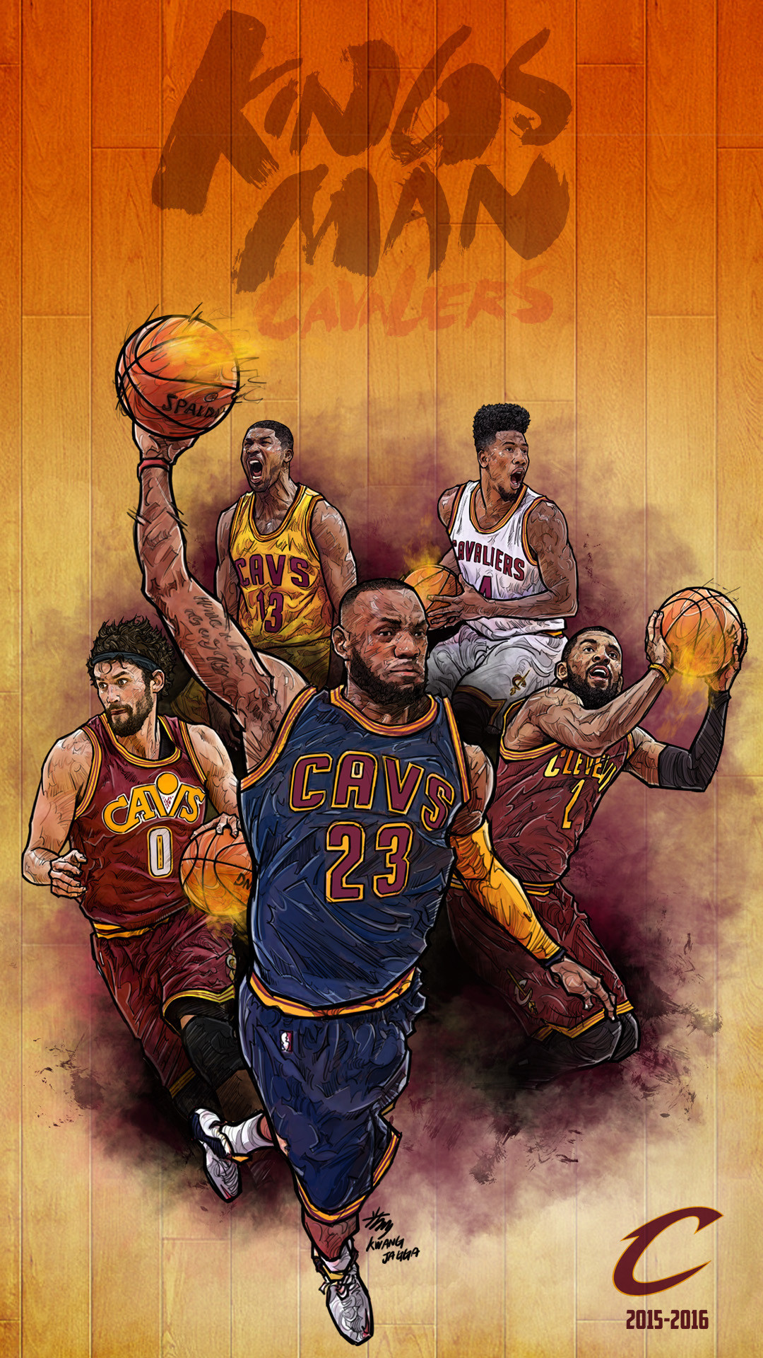 Nike Basketball Wallpaper 2018  50  images  1080x1920 NBA Phone Wallpaper   Artist  Kim MinSuk