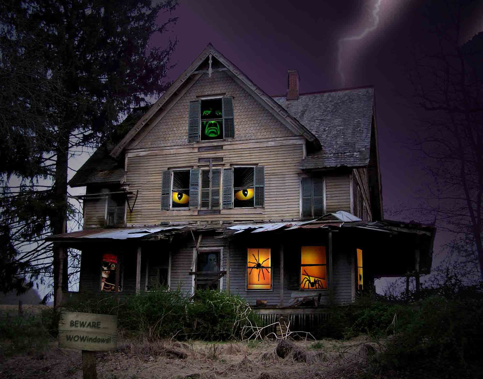 Halloween Haunted House Wallpaper 62 Images