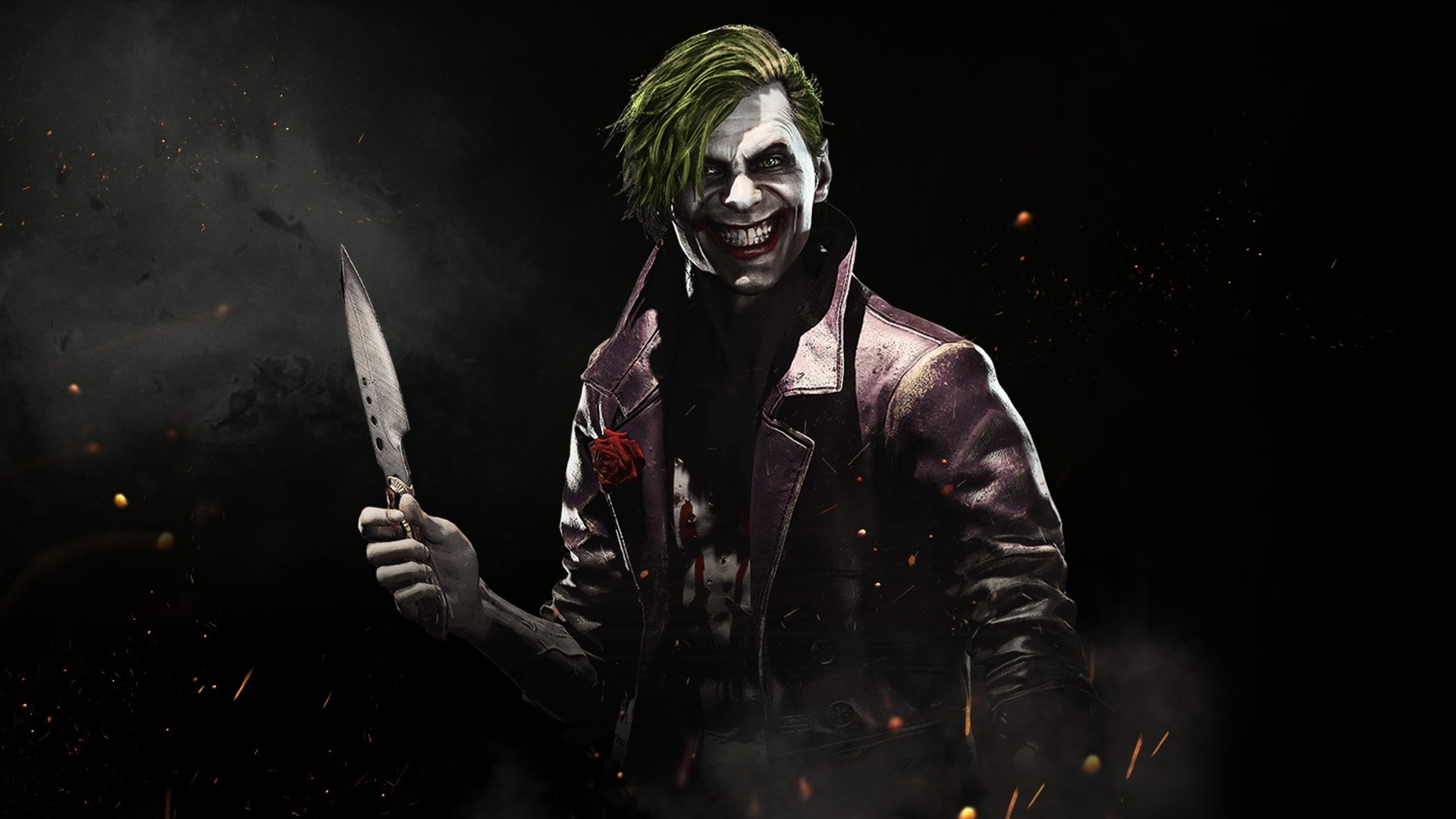 Batman Arkham Origins Joker Wallpaper Iphone