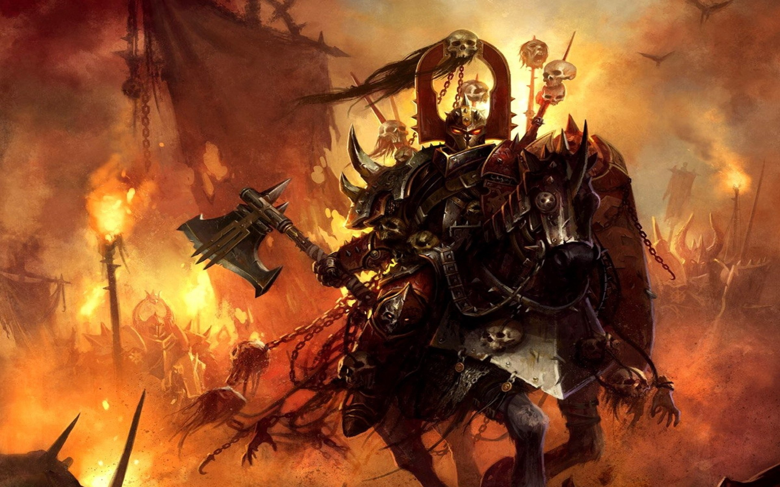 Warhammer 40k Chaos Wallpaper 75 Images