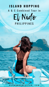 Island Hopping: A & C Combined Tour in El Nido, Philippines