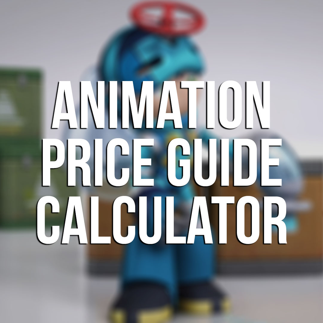 Animation Price Guide