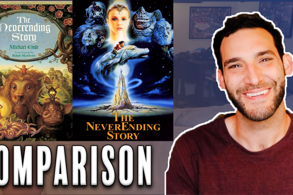 neverending story book to movie