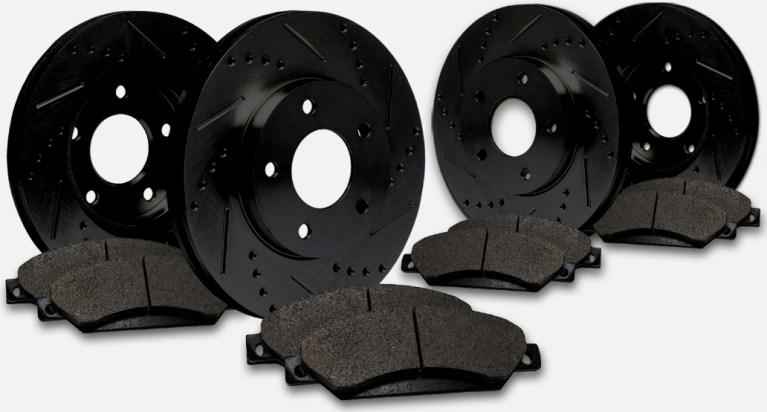 CROSS DRILLED ROTORS ON SALE