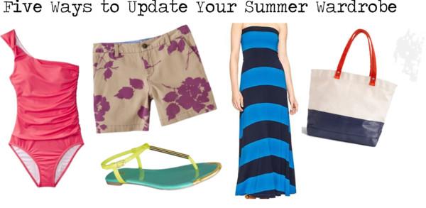 Wardrobe Update | Five Summer Essentials