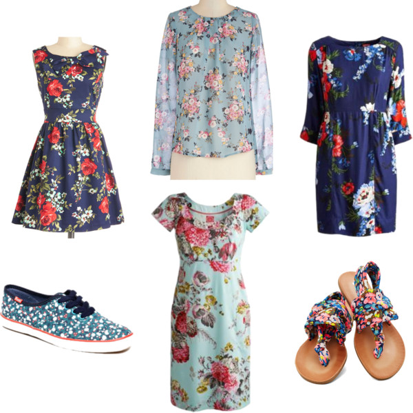 Spring Trends | Fresh Florals in Blue
