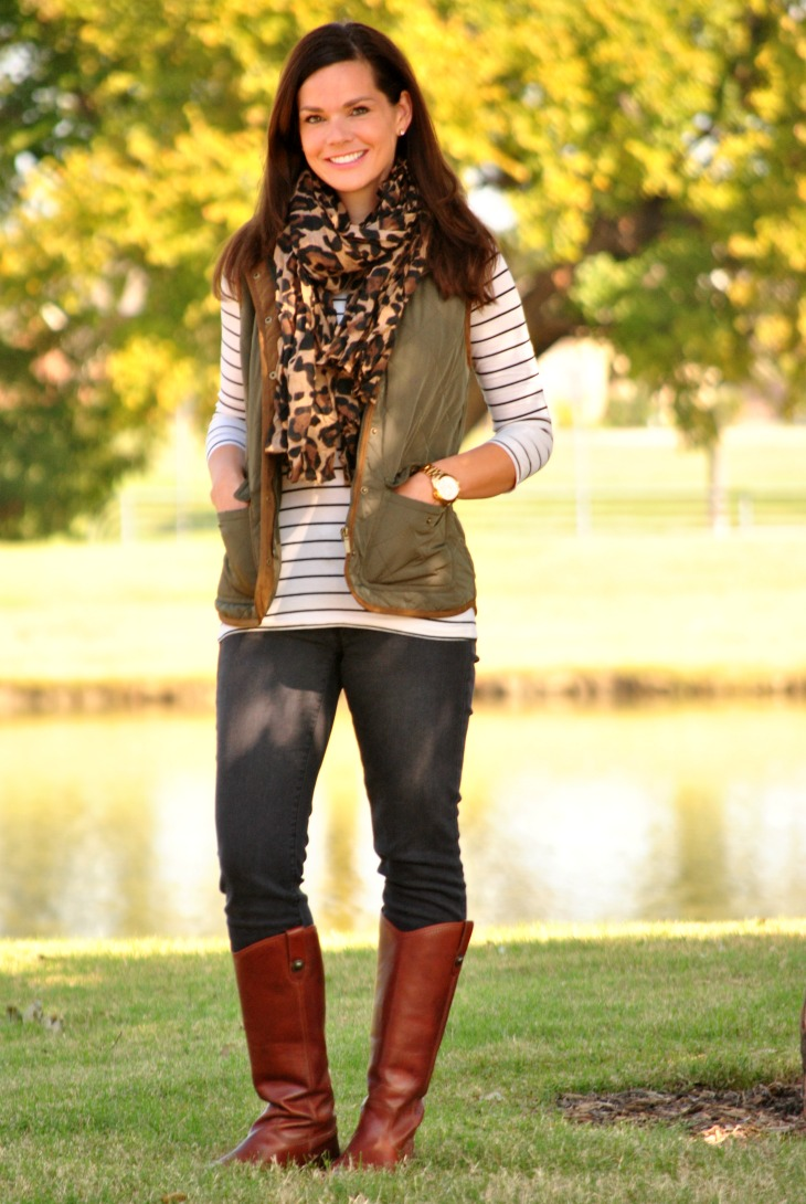 olive-vest-striped-shirt-leopard