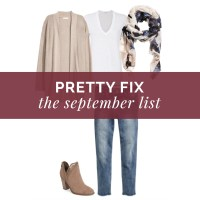 Pretty Fix:  The September List