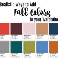 Realistic Ways to Add Fall Color Trends to Your Wardrobe