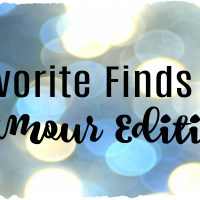 Favorite Finds - Glamour Edition