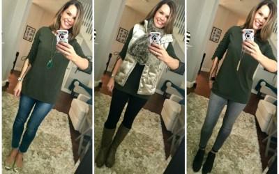SAHMonday:  Cinched Sleeve Shirt Three Ways