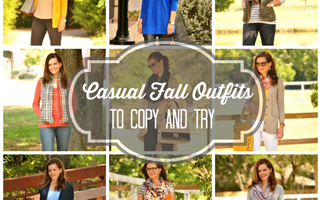 Nine Casual Fall Outfits to Copy and Try