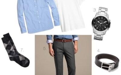 Business Casual Basics for Men