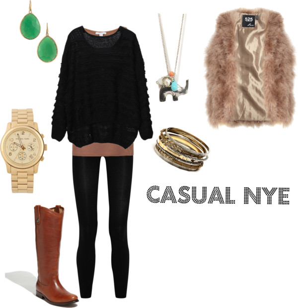 Casual NYE Outfit