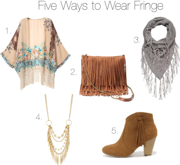Fall Preview: Five Ways to Wear Fringe