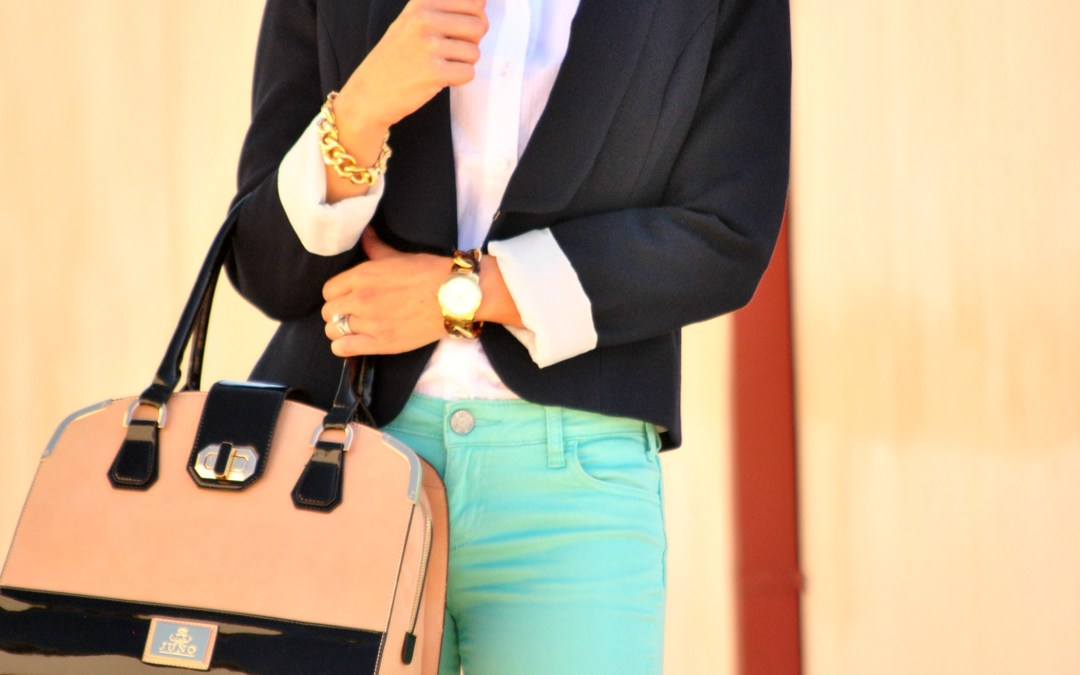 I Feel Pretty | in Jeans and a Blazer for Work