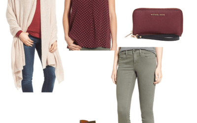 A Week of Early Fall Transition Outfits