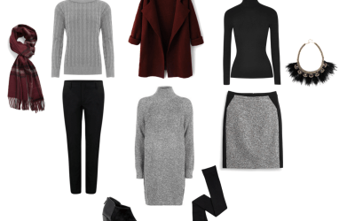 10 Winter Work Wear Essentials + 5 Outfits