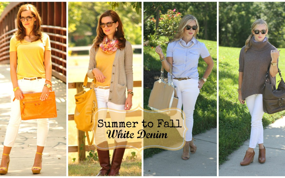 Collab | White Denim for Fall