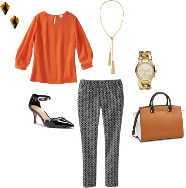 Easy Outfits | How to Wear Printed Pants