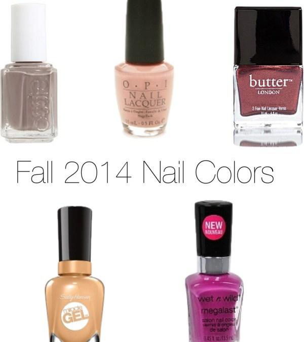 Fresh Nail Colors for Fall 2014