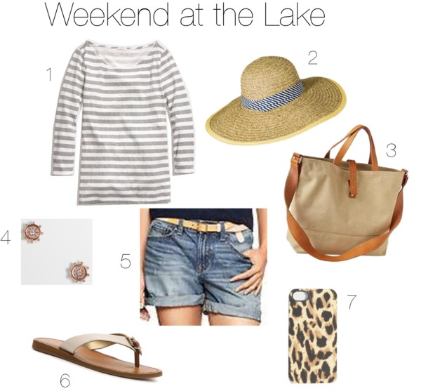 Easy Outfits | A Weekend at the Lake