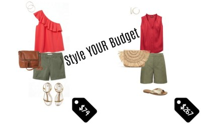 Style Your Budget: One Outfit – Five Budgets