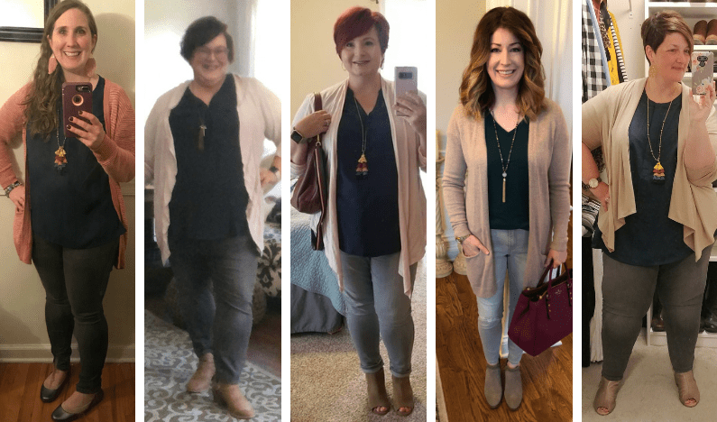 Style Your Size: Day One of the Fall 2018 Capsule Wardrobe
