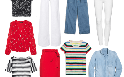 Navigating the New Silhouettes: Boxy Tops, Wide Legs, High Waists