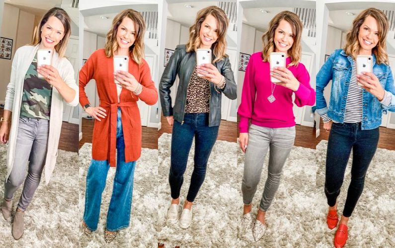 Five Days of Fall Outfits