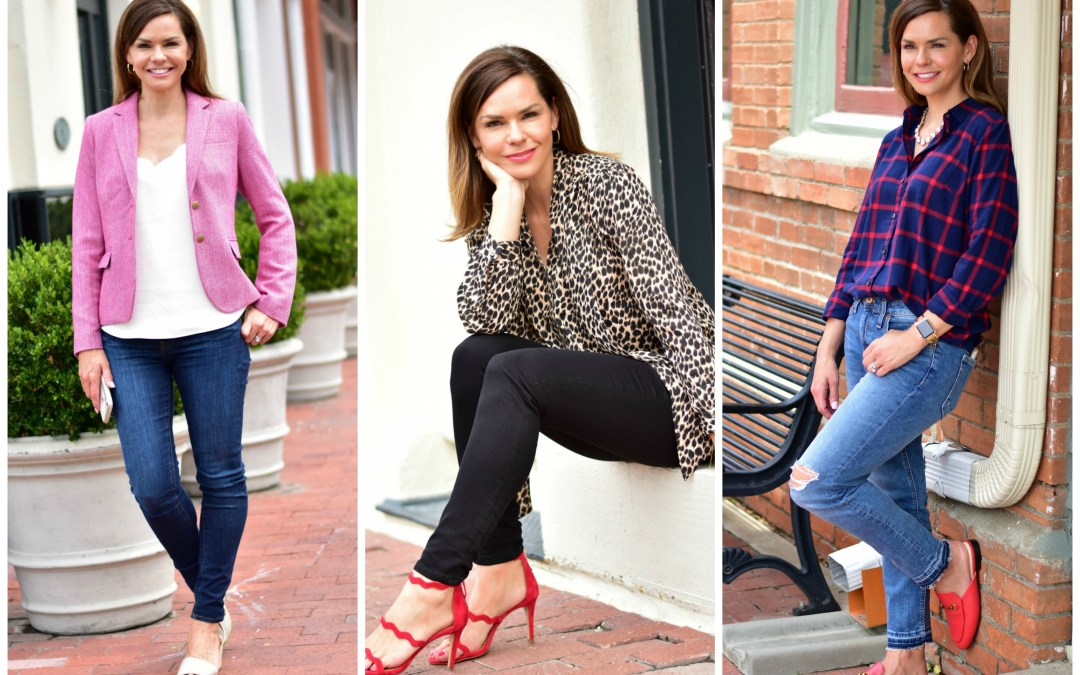 Three Fall Outfit Formulas For the Love of Shopping