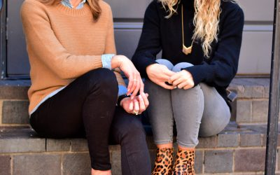 Mother Daughter Winter Style with J. Crew Factory