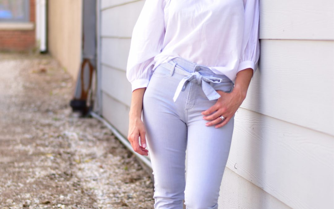 Two Ways to Wear – Lavender Jeans