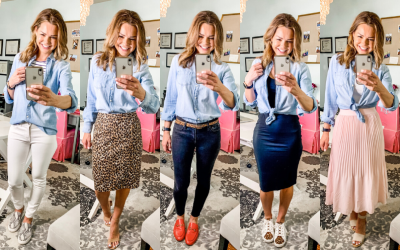 Ways to Wear It – The Chambray Shirt