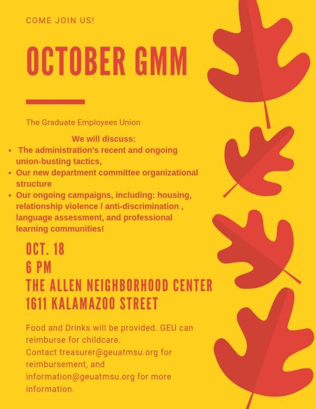 October GMM (1)