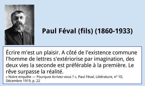 Citation – Paul Féval (fils)
